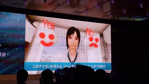 HTC VIVE 開發者峰會:頭戴虛擬顯示器市場中前言的內容開發(Bandai Namco) P_20151218_101146