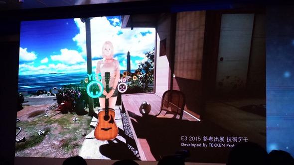 HTC VIVE 開發者峰會:頭戴虛擬顯示器市場中前言的內容開發(Bandai Namco) P_20151218_101326