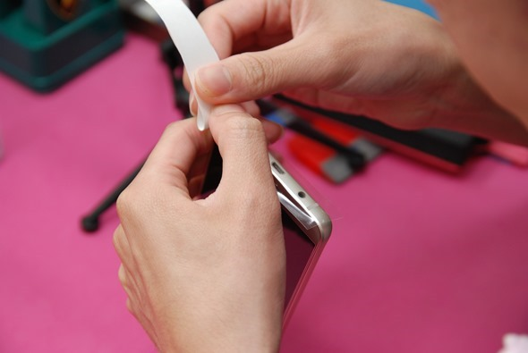 [手機包膜] Samsung Galaxy Note 5 保護貼摩斯密碼全機包膜全紀錄 DSC_0094