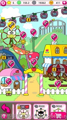 「Hello Kitty 嘉年華會」殺時間的有趣小遊戲(Android/iOS) Kitty-4-1