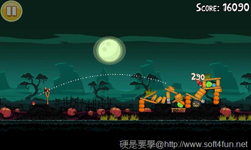[Android遊戲] 憤怒鳥萬聖節版,有新的「橘鳥」唷~Halloween! _-05
