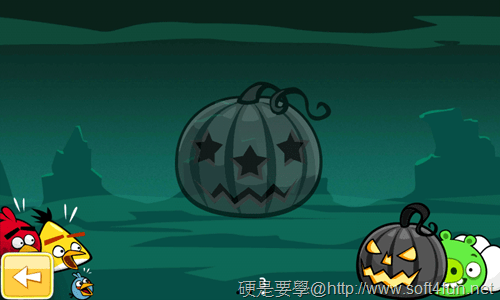 [Android遊戲] 憤怒鳥萬聖節版,有新的「橘鳥」唷~Halloween! _-10