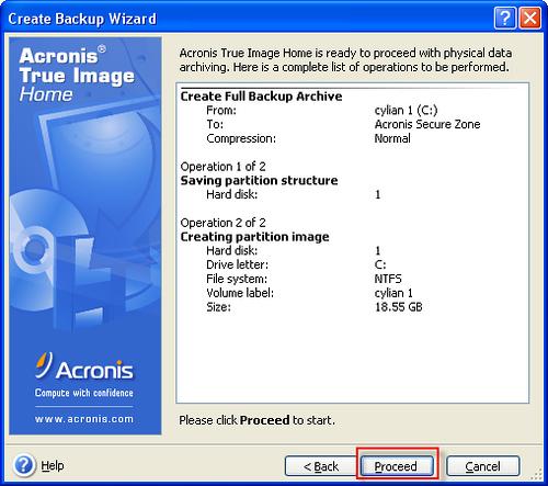 [系統工具] 上網掛MSN樣樣來,備份硬碟免重開機 - True Image 1144841237_e1eff9b8b4
