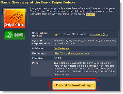 [網站推薦] 每天免費發送一套合法授權的遊戲軟體 - Game Giveaway of the Da 775806109_db84e7d5b5