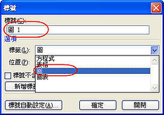 [Word技巧] 簡簡單單讓Word自動「生」出目錄 - 圖表目錄篇 745409017_5d0c0de31f_m