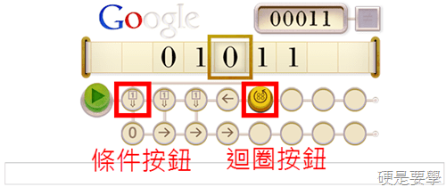 [Google Doodle] 紀念 Alan Turing 計算機之父 100歲誕辰的遊戲玩法+解答 _thumb_3