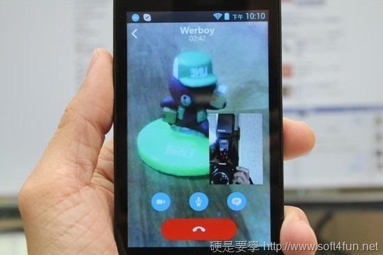 PChomeTalk 首款 Skype Android 專用手機評測 image017