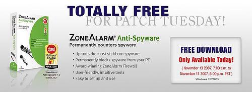 [新訊看板] ZoneAlarm 反間諜軟體免費下載(11/15 上午9點前有效) 2018800819_472a188a41