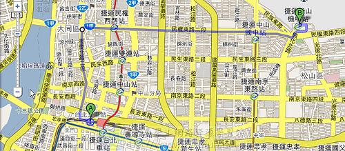 讓 Google 地圖幫您規劃旅行路線 3976637481_dd3e66bfe2