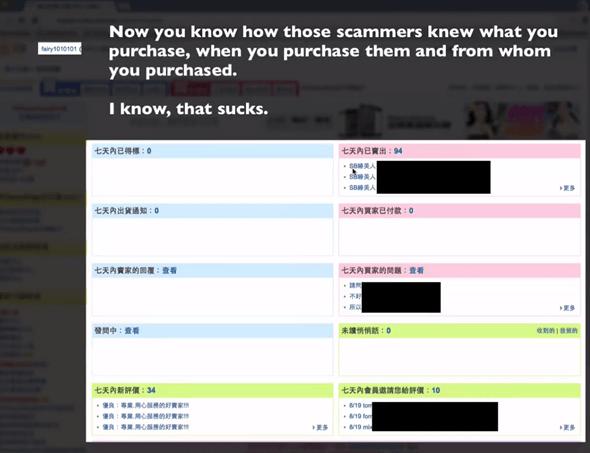 抓到了! 露天拍賣大漏洞,消費購物資料全都「露天」! image_3