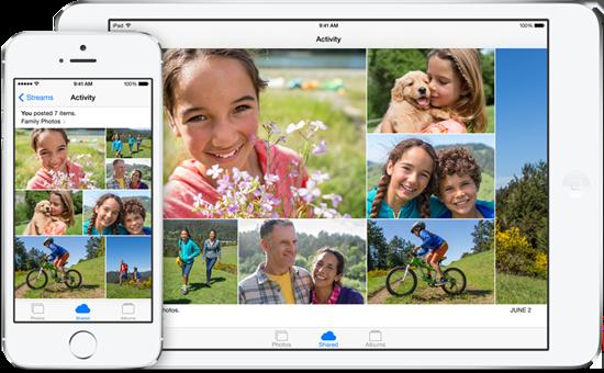 ios 8 新功能-家人共享-相簿共享