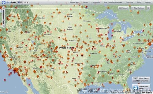 結合 Google地圖即時監控全球飛機飛行位置及路徑:Plane Finder planefinder-06_thumb