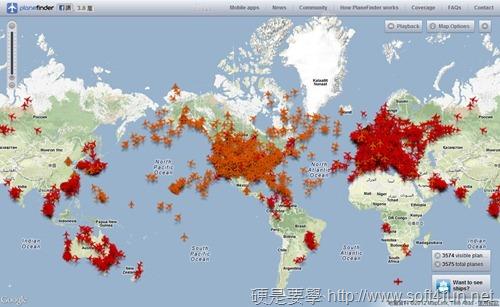 結合 Google地圖即時監控全球飛機飛行位置及路徑:Plane Finder planefinder-07_thumb