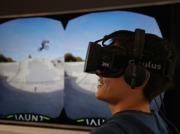 [評論] 用虛擬實境(VR)眼鏡看虛擬實境電影的心得與隱憂 jaunt-vr-movie