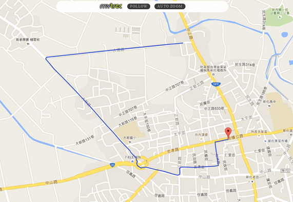 MyTrck:外出旅遊必備,與朋友分享即時位置與行經路線(iOS) mytrck06