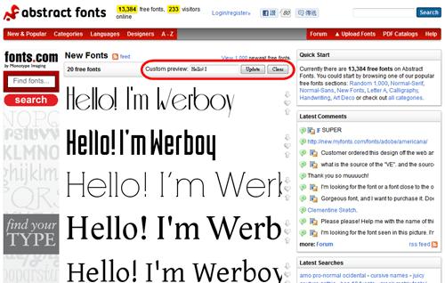 字型大補帖,收錄超過 60,000 種英文字型免費下載(含即時預覽功能) -07