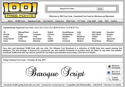 字型大補帖,收錄超過 60,000 種英文字型免費下載(含即時預覽功能) -09