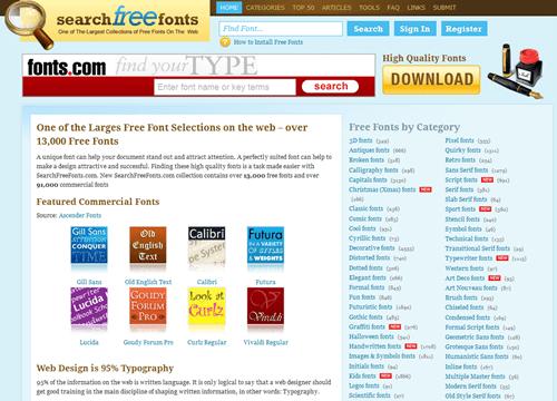 字型大補帖,收錄超過 60,000 種英文字型免費下載(含即時預覽功能) -11