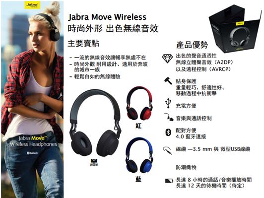 Jabra Move Wireless 無線藍耳機體驗會與產品評測 image013