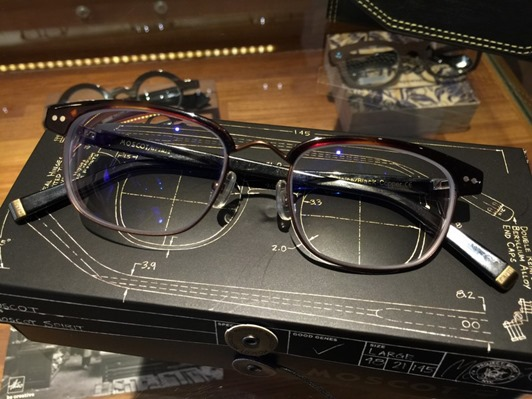 光明分子MOSCOT眼鏡-113