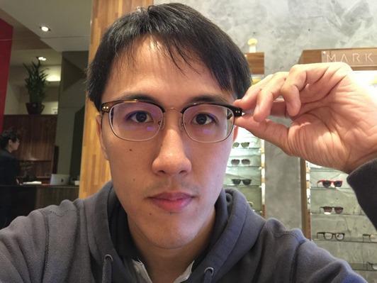 濾藍光眼鏡配鏡推薦:光明分子的眼鏡世界 MOSCOT150