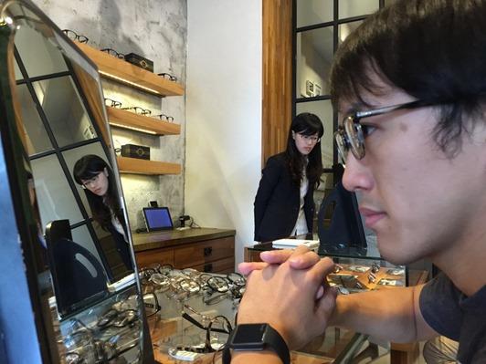 濾藍光眼鏡配鏡推薦:光明分子的眼鏡世界 MOSCOT28
