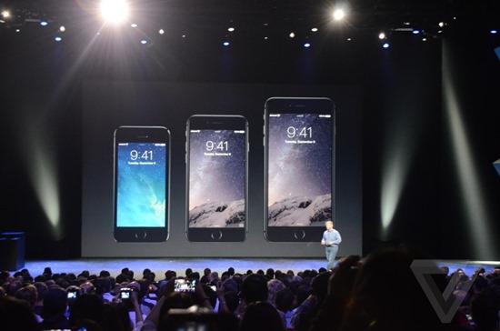大尺寸 iPhone 發布!Apple 推出 iPhone 6 及 iPhone 6 Plus AppleEvent_0113