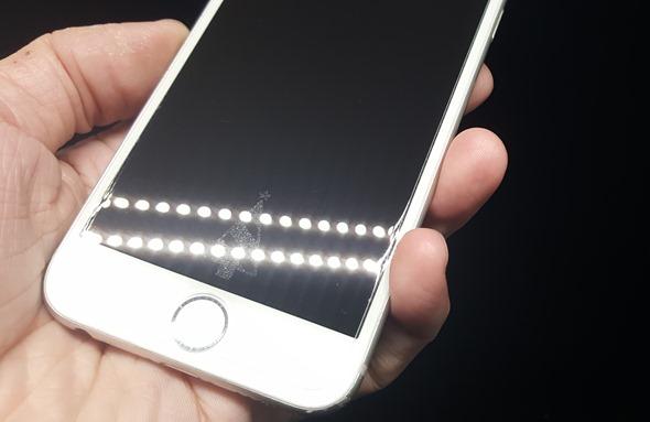 手機螢幕也 Bling Bling!冬季限定雷射光雕保護貼 20160106_230825
