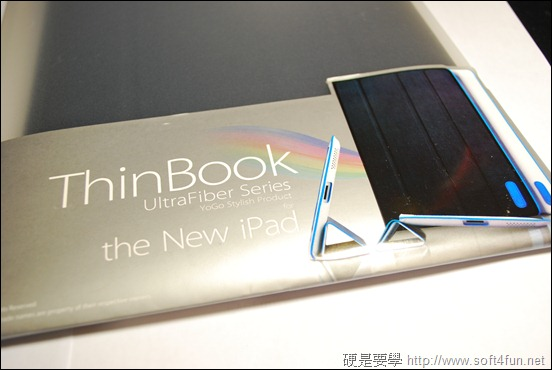 [開箱] 日系輕薄 New iPad 皮套 - Yogo ThinBook DSC_0056