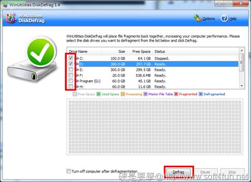 簡單好用的硬碟重組軟體「WinUtilities DiskDefrag」 WinUtilities-DiskDefrag-01
