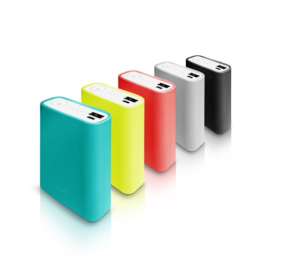 ASUS ZenPower專屬多彩保護套共有藍、黃、紅、灰、黑五色可選購