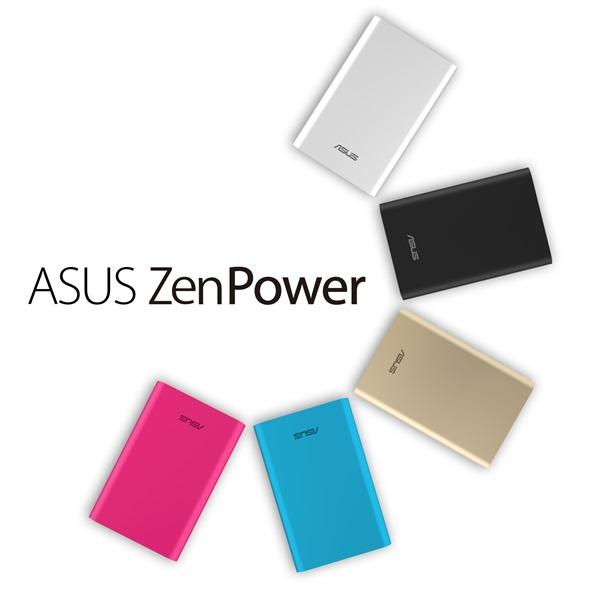 華碩推出行動電源ASUS ZenPower,機身纖薄2.2公分、輕215克,外觀僅約一張名片大小,預計將於3月9日正式發售