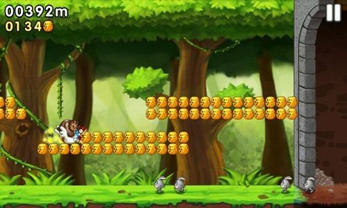 [Android遊戲] 森林跑跑熊:iOS移植的殺時間耐玩遊戲 -05