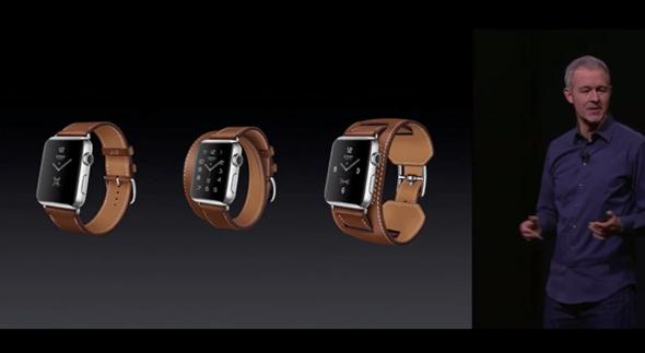 新色彩:Apple Watch 新推出金色與玫瑰金款 apple-event-014