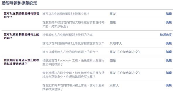 [功能整理] Facebook 帳號與隱私設定目錄大全 facebook04