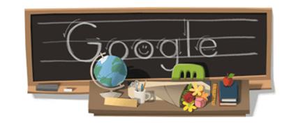 Google Doodle:慶祝9月28日教師節 d4f7a10b73dc