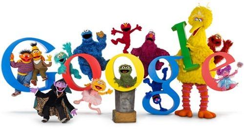 Google Doodle:Jim Henson 木偶大師 75歲誕辰,芝麻街布偶創造者 Sesame-Street-02