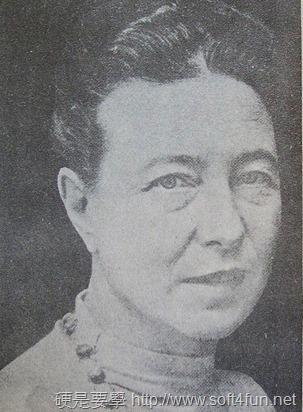 Google 首頁塗鴉:Simone de Beauvoir 法國存在主義作家西蒙.波娃106歲誕辰 Simone-de-Beauvoir-2