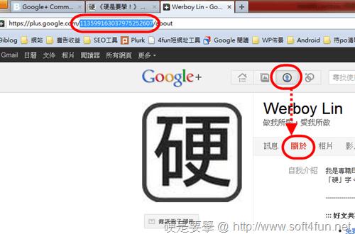 2 款 Google+ 分析統計工具,記錄你的追蹤者變化 GoogleWidget-02