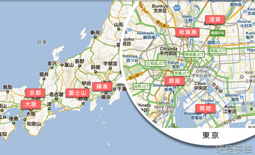 Google推出日本櫻花季街景旅遊導覽,26個賞櫻景點看透透! -Google-00