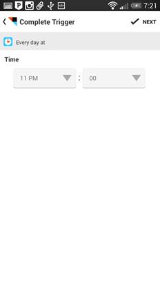 IFTTT 入門教學:如果明天下雨,請今日提醒我(Android / iOS) IFTTTAndroidiOS-15