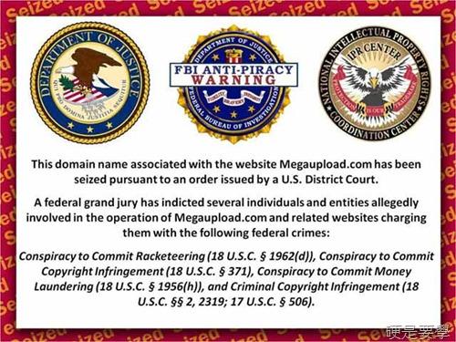 SOPA法案、Megaupload 事件懶人包 fbi-warring