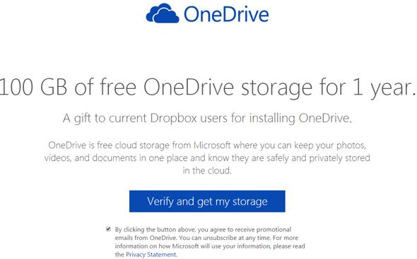 免費讓OneDrive雲端儲存空間激增100GB! onedrive0
