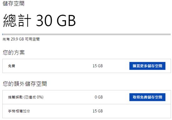 [限時活動] 快來索取 OneDrive 30GB 雙倍免費空間 onedrive_4