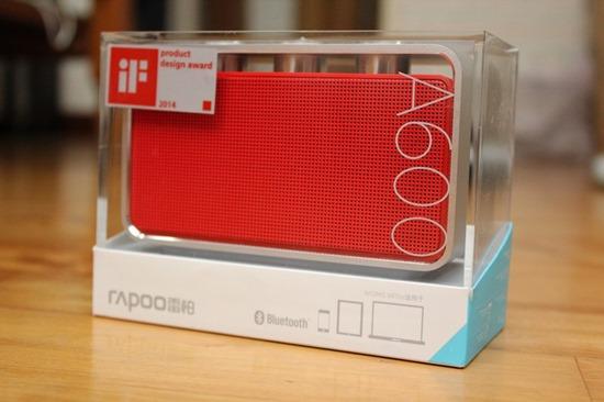 Rapoo A600 NFC 無線藍芽音箱,鋁合金鑽石切邊的極致金屬工藝品 rapooa60003