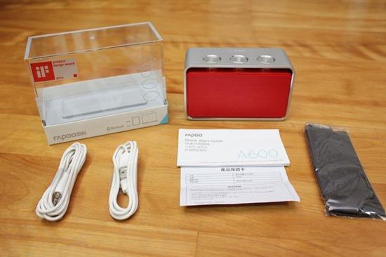 Rapoo A600 NFC 無線藍芽音箱,鋁合金鑽石切邊的極致金屬工藝品 rapooa60008