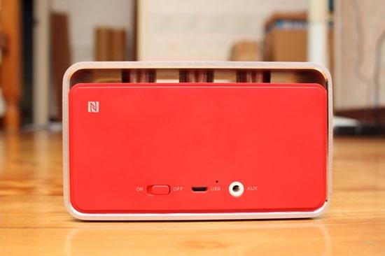 Rapoo A600 NFC 無線藍芽音箱,鋁合金鑽石切邊的極致金屬工藝品 rapooa60018