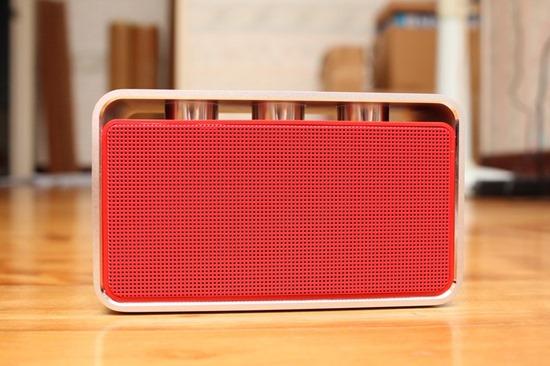 Rapoo A600 NFC 無線藍芽音箱,鋁合金鑽石切邊的極致金屬工藝品 rapooa60019