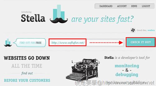 Stella:免費監測網站狀況、反應時間 stella--04