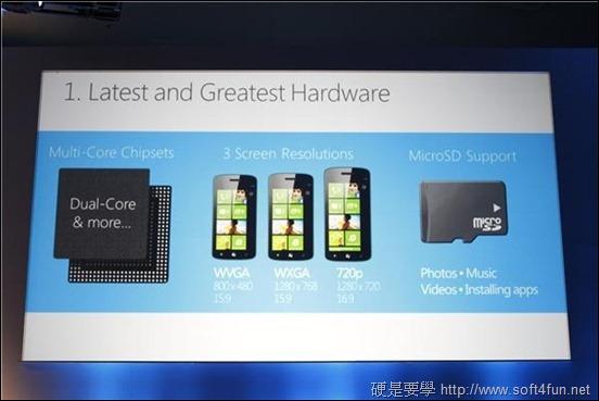 全新 Windows Phone 8 現身! hardware